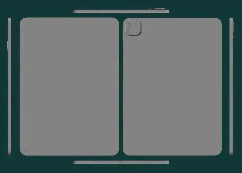 Раскрыта внешность новейших Apple iPad Pro - 1