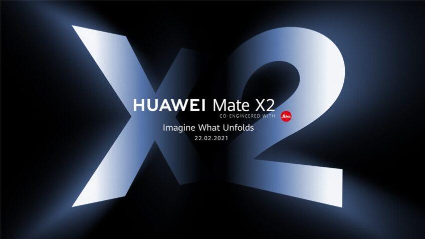 Огромный складной экран и камеры Leica. Международный постер Huawei Mate X2