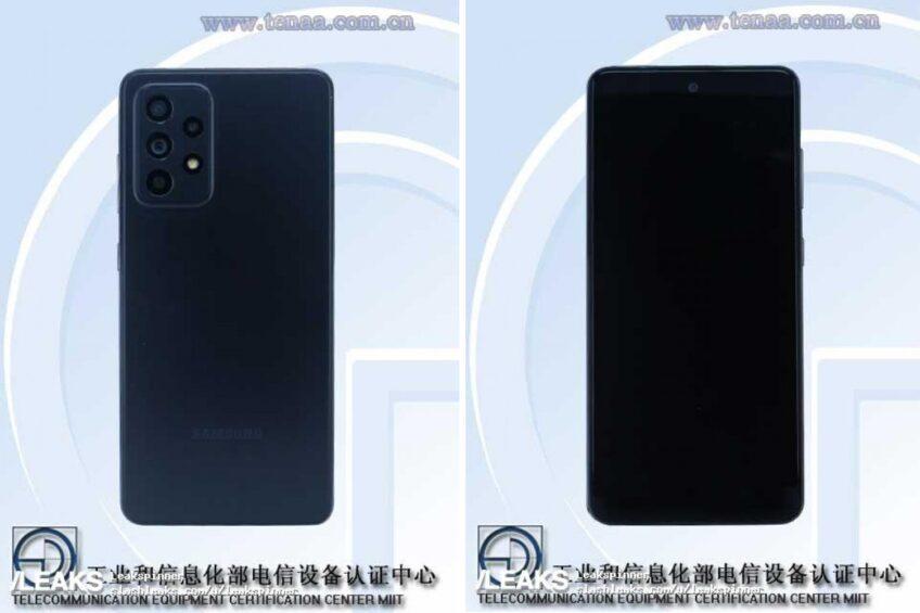 Первые живые фото Samsung Galaxy A52 5G