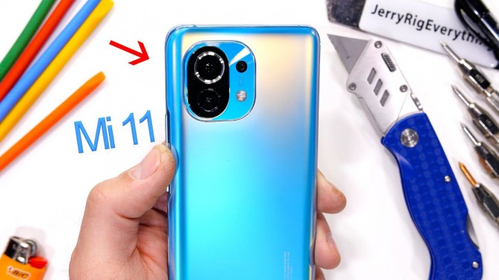 Xiaomi Mi 11 сдал экзамен у известного спеца по разборке (видео)