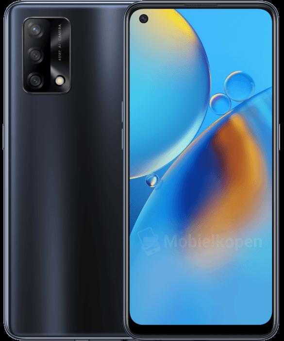 Oppo A74 получит тройную 48-Мп камеру и экран с интегрированным сканером отпечатков пальцев