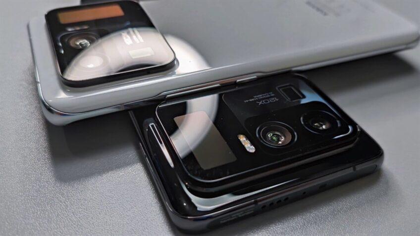 «Живое» фотография подтвердило необыкновенный дизайн Xiaomi Mi 11 Pro - 1