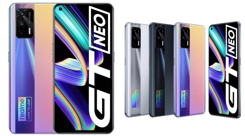 Super AMOLED, Dimensity 1200, 120 Гц, NFC, 4500 мА•ч, 50 Вт и 5G за 5 долларов. Смартфон Realme GT Neo поступает в продажу