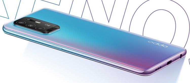 Телефон OPPO Reno5 Z с квадрокамерой и 5G-чипом Dimensity 800U стоит 0