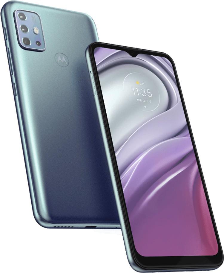 Вышел телефон Moto G20 с квадрокамерой и экраном HD+ за €149