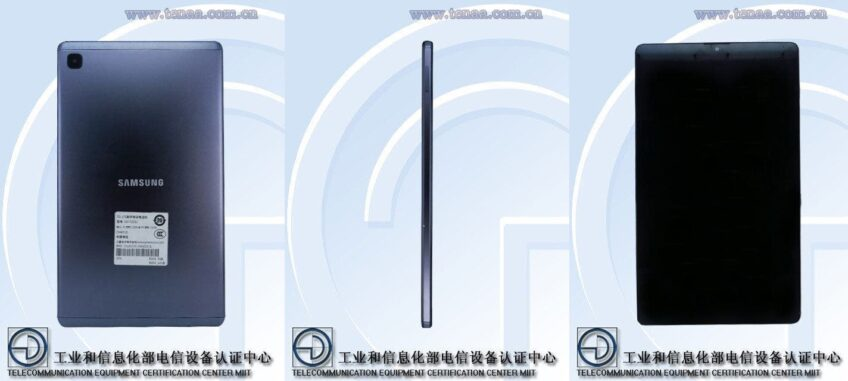 Живые фото и характеристики нового планшета Samsung Galaxy Tab A7 Lite