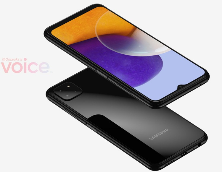 Рендер Galaxy A22 / @OnLeaks / Voice