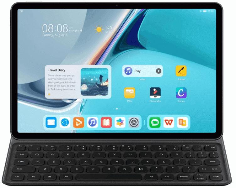 Snapdragon 865, 2К-экран, 120 Гц, 7250 мА•ч и HarmonyOS 2.0 за 399 евро. Huawei MatePad 11 уже запущен в массовое производство