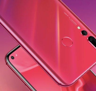 Huawei начала продажи «дырявого» смартфона Nova 4 с 48-мегапиксельной камерой