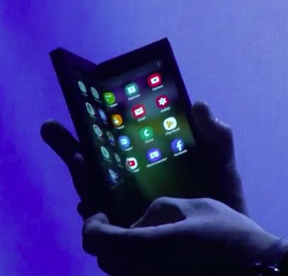 Первый гибкий смартфон Samsung получит камеру на основе неанонсированного датчика Sony IMX374