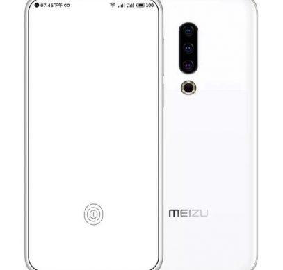 Концепт-рендер Meizu 16s с тремя камерами и фронталкой в экране