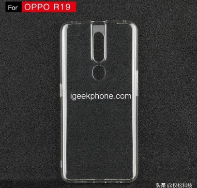 Первое фото чехла для смартфона Oppo R19 подтверждает сдвоенную камеру и дактилоскопический датчик на задней панели