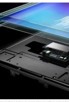 Старшие смартфоны Samsung обновлённой линейки Galaxy A получат подэкранные сканеры отпечатков пальцев