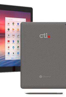CTL Tx1 - защищенный планшет под управлением Chrome OS с экраном 2К и шестиядерным процессором