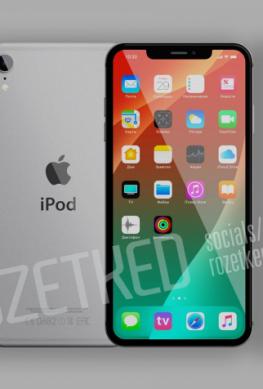 iPod touch 7 напоминает iPhone X с одинарной камерой