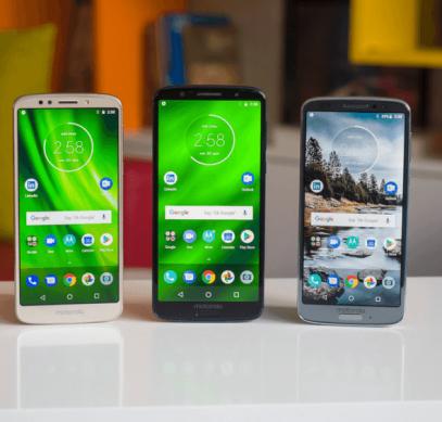 Moto G6 и Moto G6 Play вот-вот получат обновление до Android 9.0 Pie