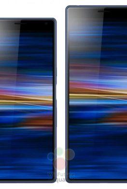Пресс-фото Sony Xperia 10 и Xperia 10 Plus