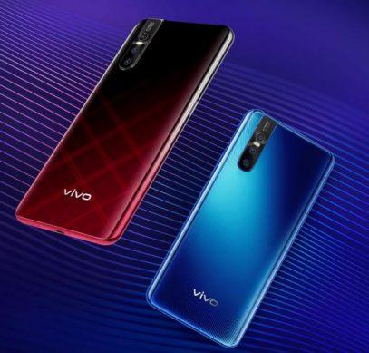 Смартфон Vivo V15 Pro получил выезжающую фронтальную 32-мегапиксельную камеру и необычное цветовое оформление