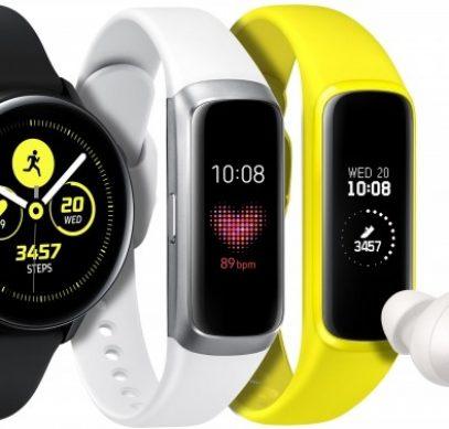 Samsung представила браслеты Galaxy Fit и Galaxy Fit e: цена от 3 тысяч рублей
