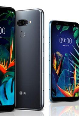 LG представила простые смартфоны K50 и K40