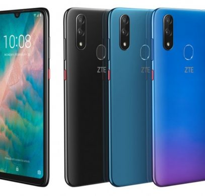 MWC 2019: смартфон среднего уровня ZTE Blade V10 оснащён 32-Мп селфи-камерой