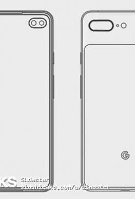 Две двойные камеры: смартфон Google Pixel 4 XL показался на рендере
