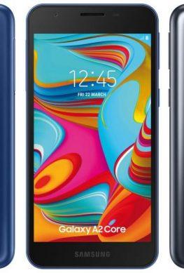 Скоро: Samsung Galaxy A2 Core – ультрабюджетный вариант из Кореи