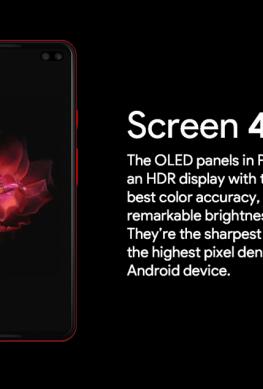Google Pixel 4 XL красуется на первом рекламном изображении