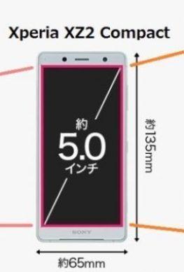 Sony создаст смартфон на замену Xperia Compact с диагональю 5,7 дюйма