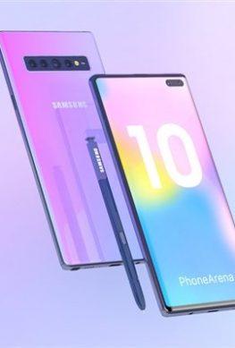 Samsung Galaxy Note 10 получит экран Super AMOLED диагональю не менее 6,6 дюйма