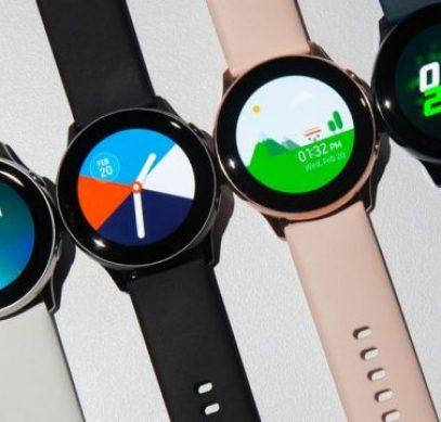 Для умных часов Samsung Galaxy Watch Active доступно обновление - 1