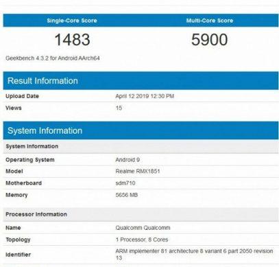Намного лучше Redmi? Главный соперник Redmi Note 7 Pro получил платформу Snapdragon 710 и позволяет делать снимки разрешением 64 Мп