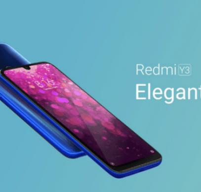 Представлен смартфон Redmi Y3 - 1