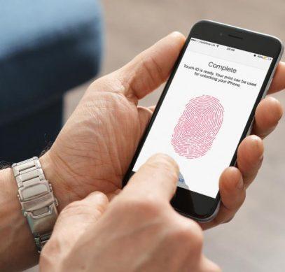 iPhone можно будет разблокировать щекой