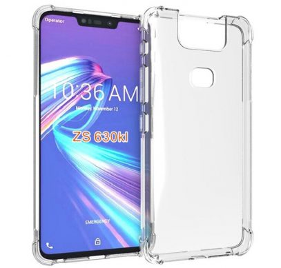 Рендеры чехла говорят о крупном вырезе в дисплее смартфона ASUS Zenfone 6