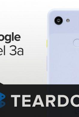 Смартфон Google Pixel 3A препарирован: аппарат можно отремонтировать