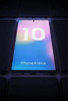 Показаны основные особенности дизайна Samsung Galaxy Note 10 и Galaxy Note 10 Pro