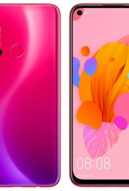 Смартфон Huawei P20 Lite 2019 позирует на рендерах в корпусах разного цвета