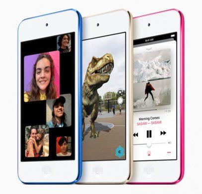 Представлен новый плеер Apple iPod Touch с чипом A10 Fusion и объёмом памяти до 256 Гбайт