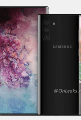 Размеры Samsung Galaxy Note 10 и Note 10 Pro сравнили на живом фото