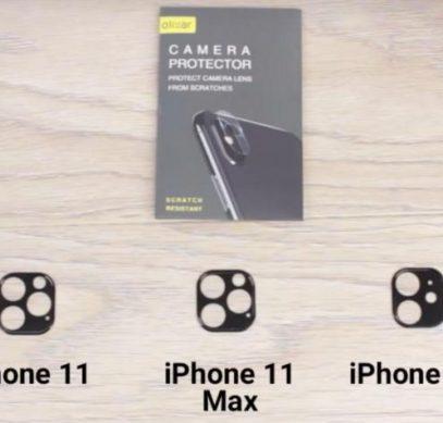 Защитные стекла камер подтверждают количество датчиков в смартфонах iPhone 11, iPhone 11 Max и iPhone 11R