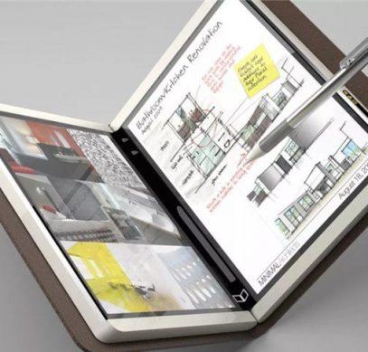 Microsoft готовит складной планшет с 9-дюймовыми экранами и поддержкой приложений Android