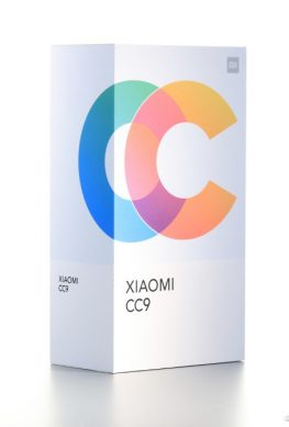 Креативная коробка Xiaomi CC9 подтвердила стиль и характеристики