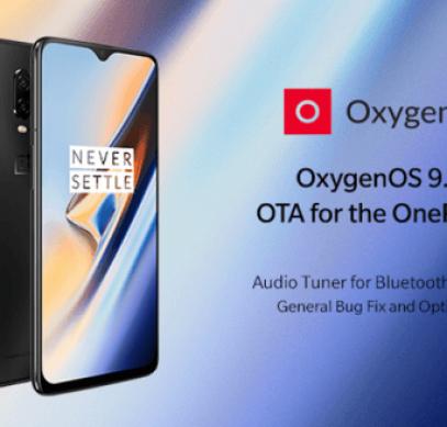 Смартфоны OnePlus 6 и OnePlus 6T получили обновление OxygenOS - 1