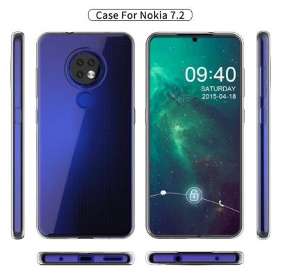 Показали дизайн Nokia 7.2 с необычным модулем камеры