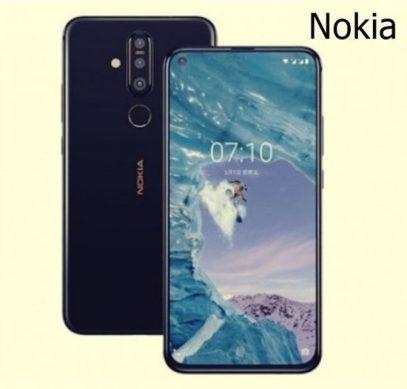 Nokia 6.2 c врезанной в экран фронтальной камерой впервые показан на рендере