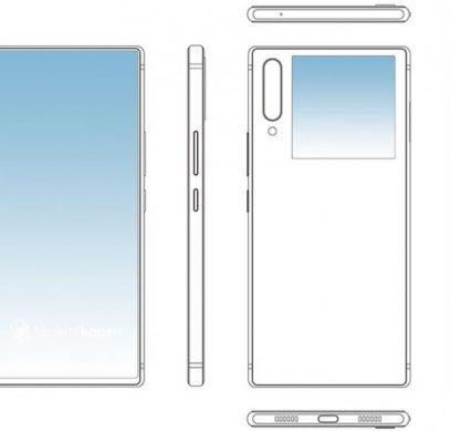 ZTE показала новый вариант смартфона с двумя экранами - 1