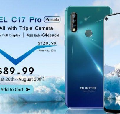 Цена Oukitel C17 Pro