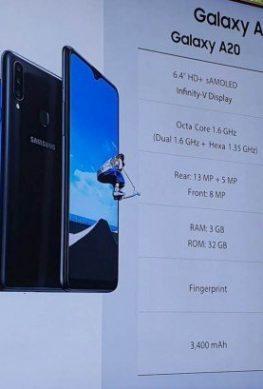 """Samsung ухудшила экран в """"улучшенной"""" версии Galaxy A20 - 1"""