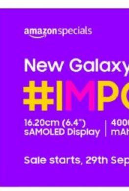 Samsung представила смартфон Galaxy M10s - 1